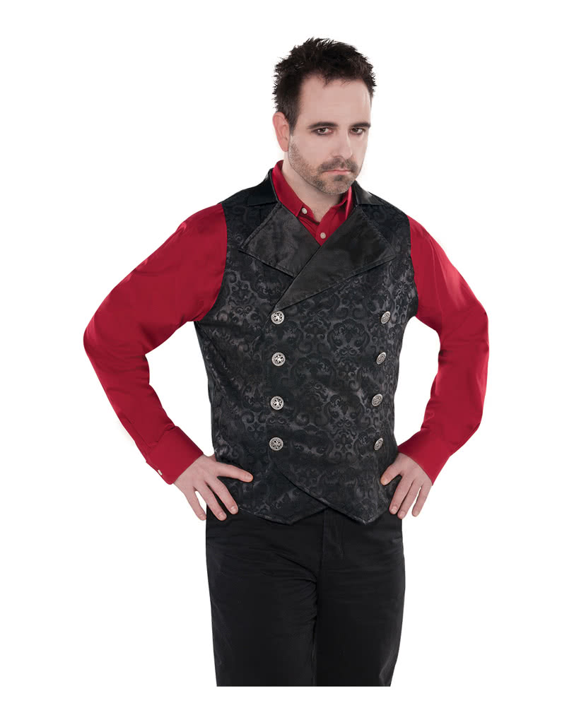 vampir weste f r m nner f r dein vampir und gothic kost m karneval universe. Black Bedroom Furniture Sets. Home Design Ideas