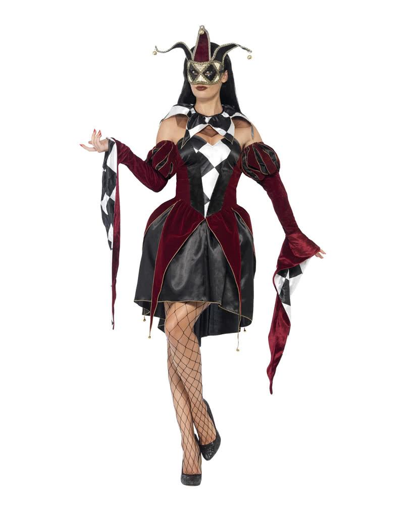 venedig damen harlekin kost m elegantes harlekin frauen kost m karneval universe. Black Bedroom Furniture Sets. Home Design Ideas