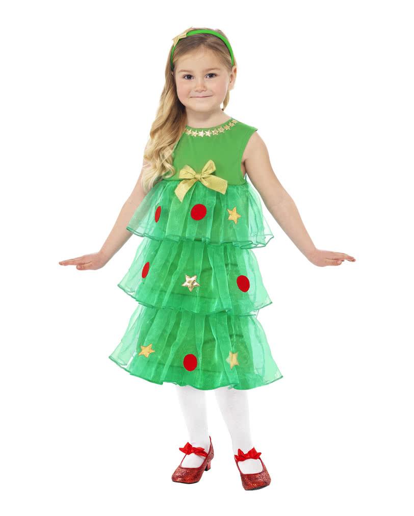 christbaum kinderkost m weihnachtskleid mit baumschmuck. Black Bedroom Furniture Sets. Home Design Ideas