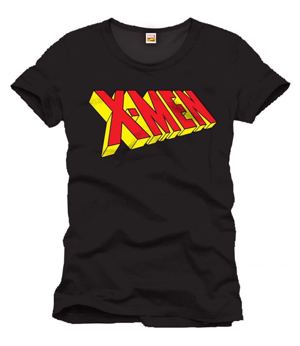 x men t shirt lizenziertes superhelden t shirt karneval universe. Black Bedroom Furniture Sets. Home Design Ideas