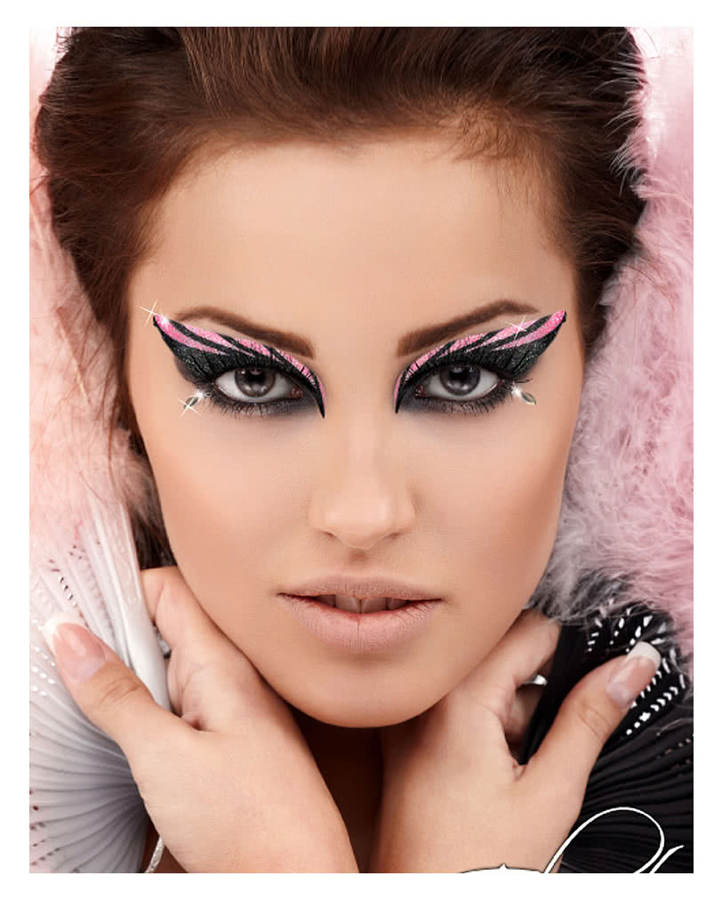 xotic eyes glitzer make up glitter make up augen make up zum aufkleben karneval universe. Black Bedroom Furniture Sets. Home Design Ideas
