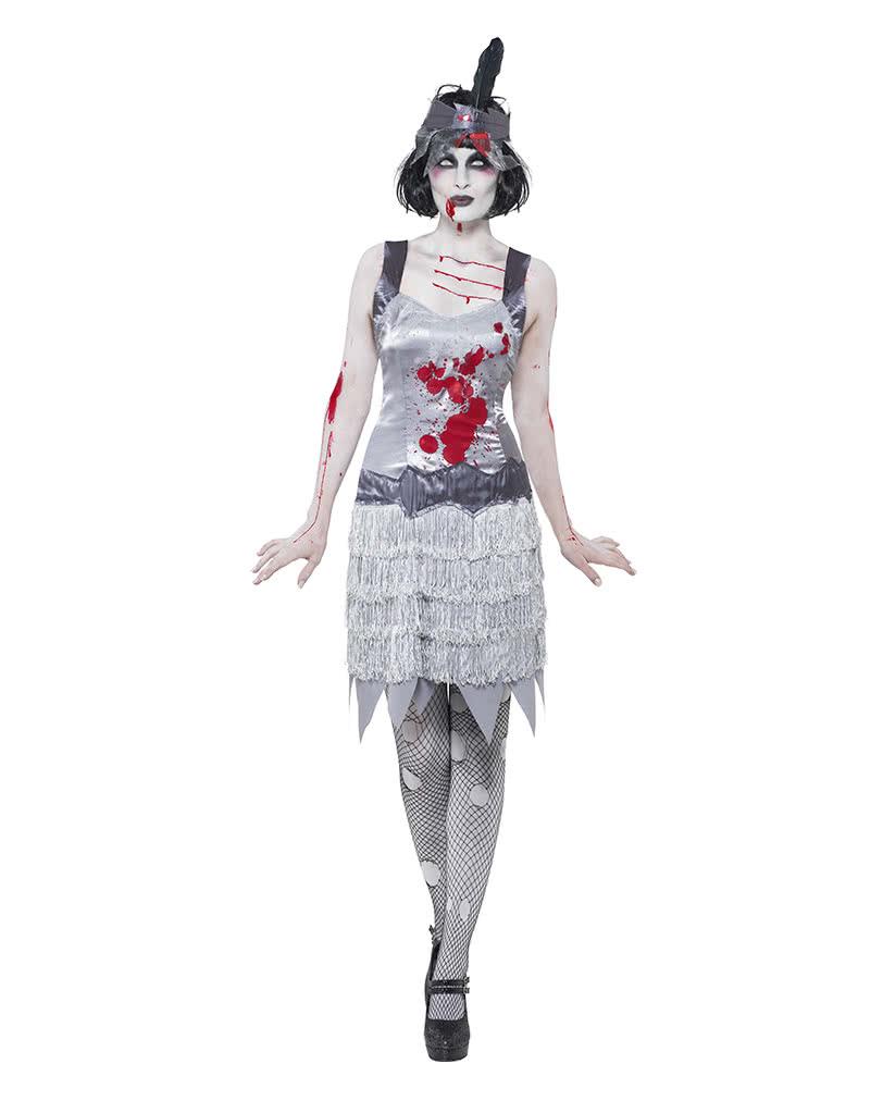 flapper zombie kost m f r frauen s 20er jahre faschings kost m karneval universe. Black Bedroom Furniture Sets. Home Design Ideas