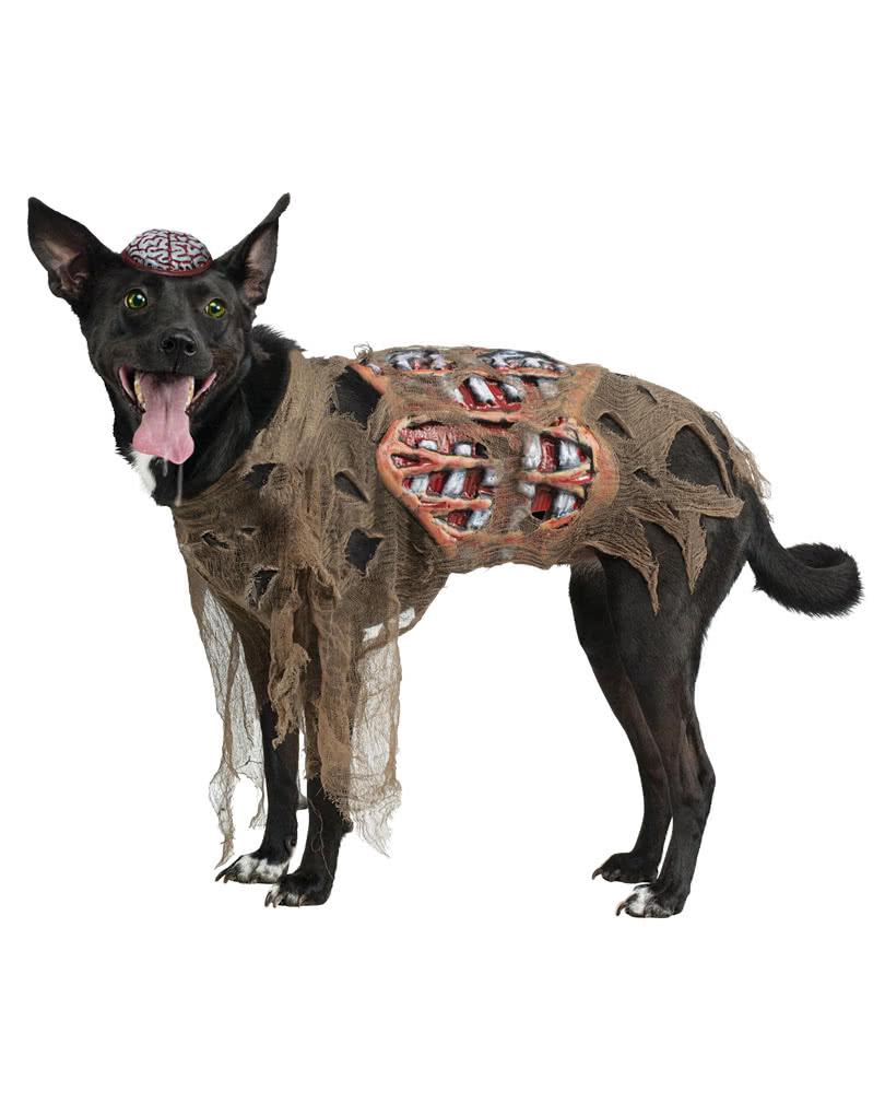 zombie kost m f r hunde hundekost m f r halloween karneval universe. Black Bedroom Furniture Sets. Home Design Ideas