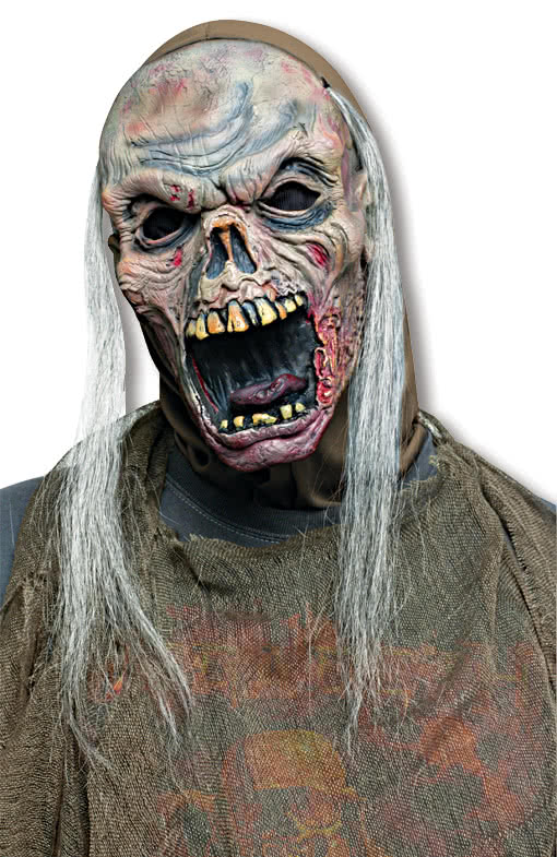 freaky zombie maske halloween horror maske karneval. Black Bedroom Furniture Sets. Home Design Ideas