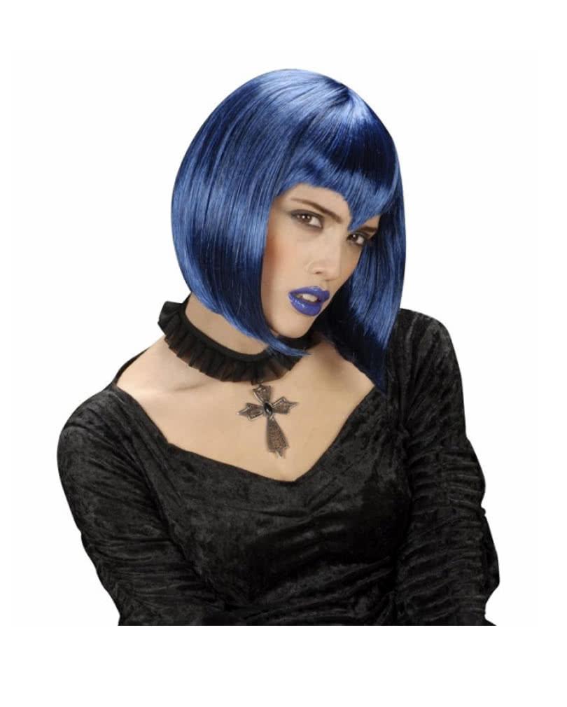 gothic halsband mit kreuzanh nger stein halskette mit kreuz edelstein karneval universe. Black Bedroom Furniture Sets. Home Design Ideas
