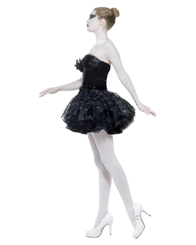 gothic swan ballett kost m schwarzes ballerina kleid f r fasching karneval universe. Black Bedroom Furniture Sets. Home Design Ideas