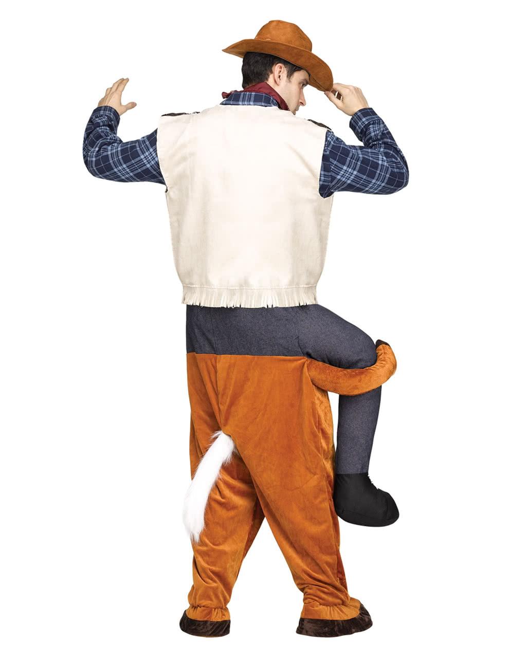 carry me reitender cowboy kost m f r fastnacht karneval universe. Black Bedroom Furniture Sets. Home Design Ideas
