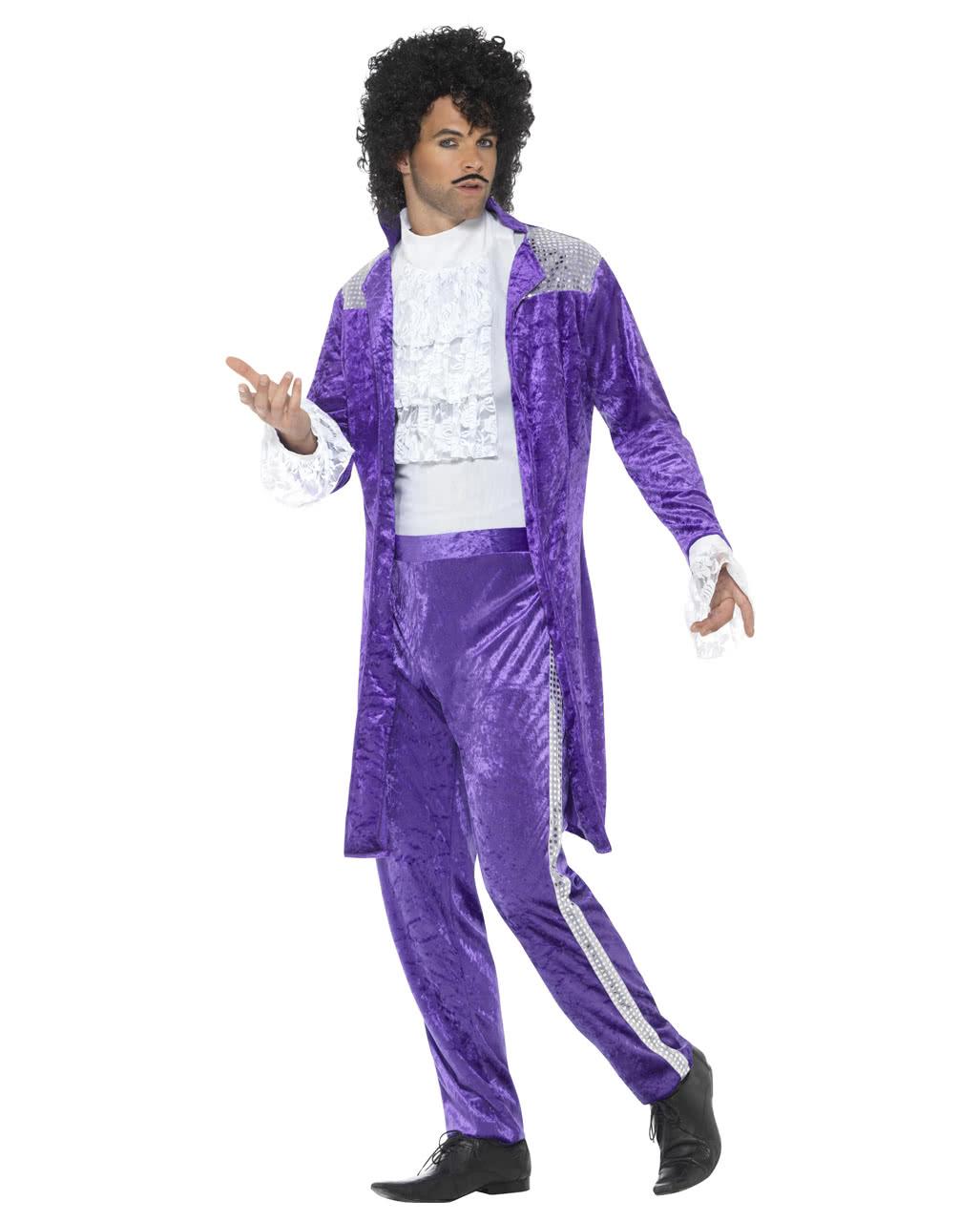 80er jahre purple rain kost m f r fasching karneval universe. Black Bedroom Furniture Sets. Home Design Ideas