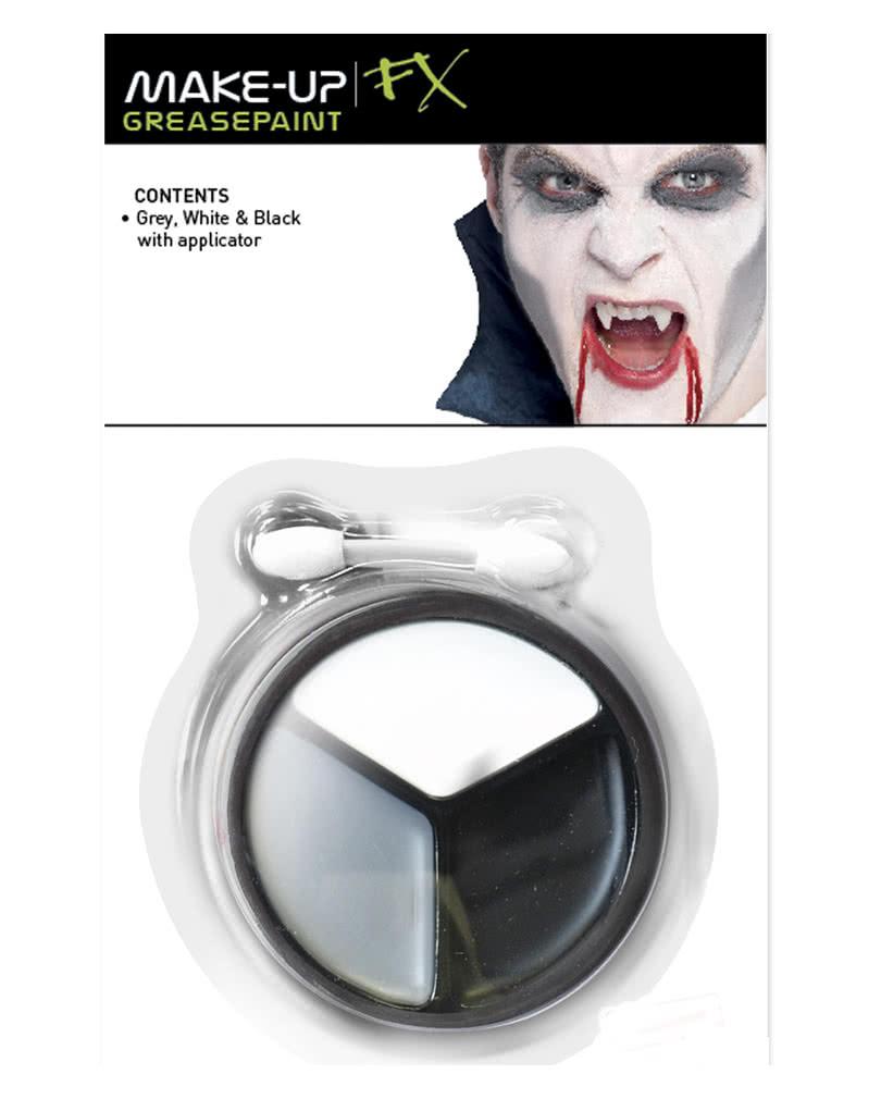 vampir schminke 4 teilig vampir make up leicht gemacht. Black Bedroom Furniture Sets. Home Design Ideas