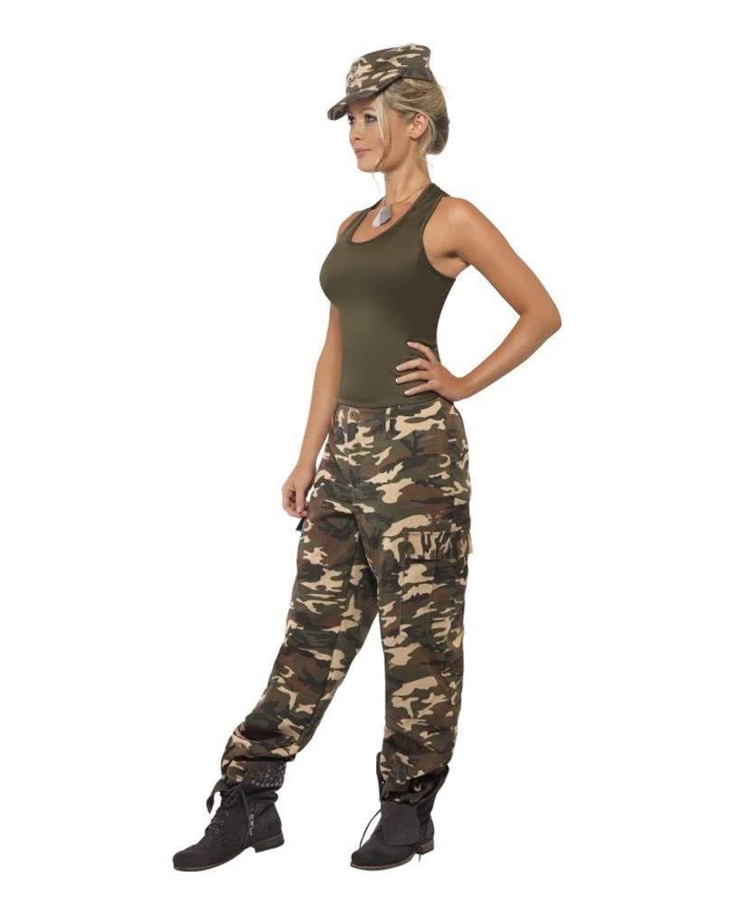 army camo damenkost m armee verkleidung f r damen. Black Bedroom Furniture Sets. Home Design Ideas