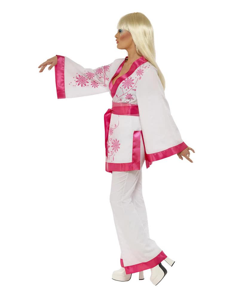 disco kimono kost m 70er jahre disco anzug karneval. Black Bedroom Furniture Sets. Home Design Ideas