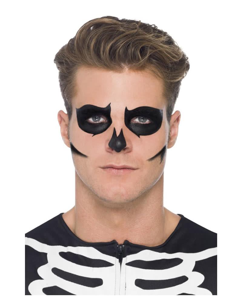 skeleton make up set gruselige karnevals schminke. Black Bedroom Furniture Sets. Home Design Ideas