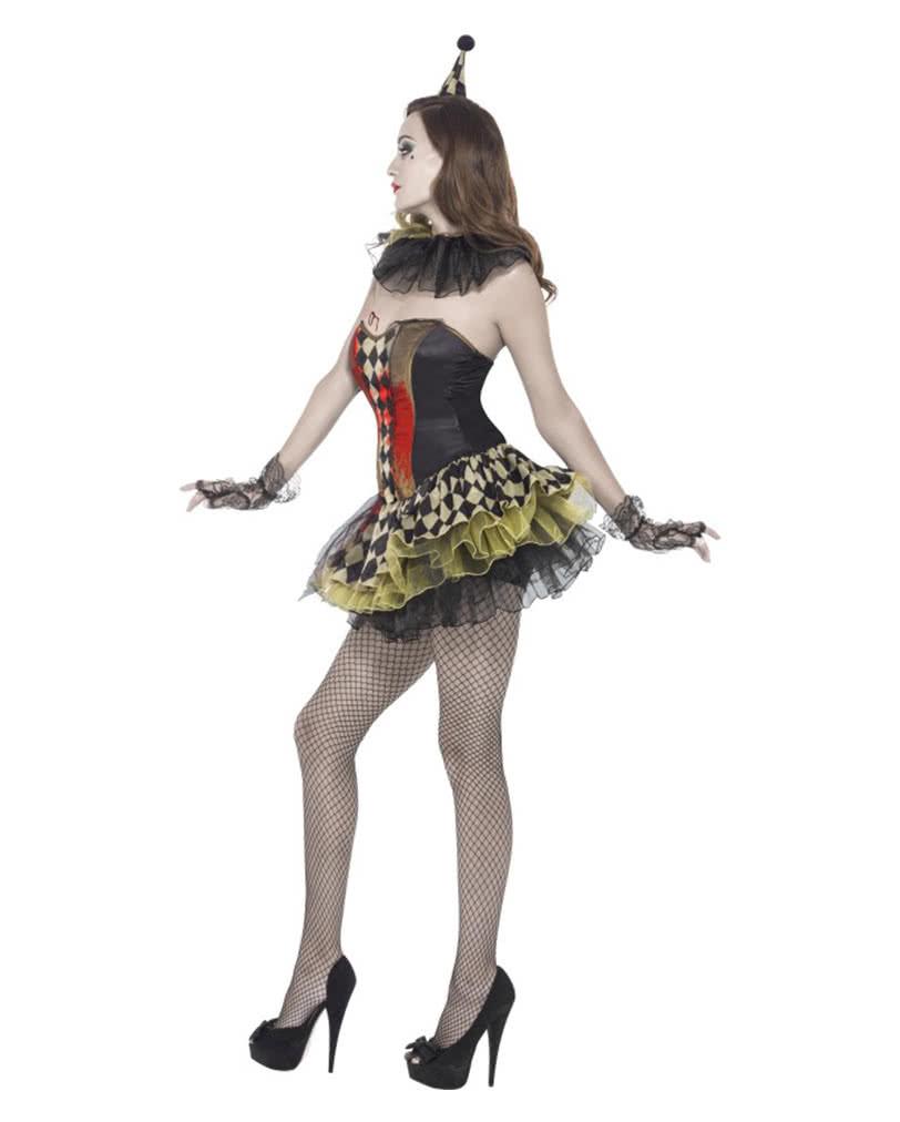 zombie clown verkleidung f r frauen horrorkost m f r damen karneval universe. Black Bedroom Furniture Sets. Home Design Ideas