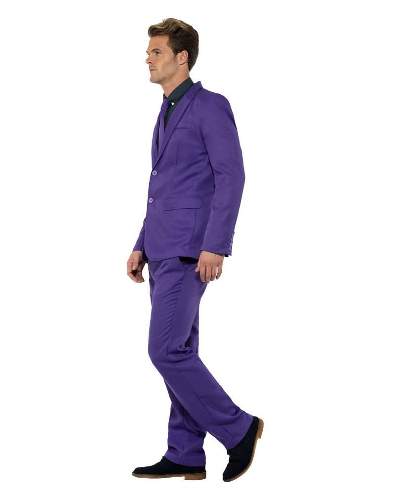 herren anzug lila violetter karnevalsanzug f r herren karneval universe. Black Bedroom Furniture Sets. Home Design Ideas