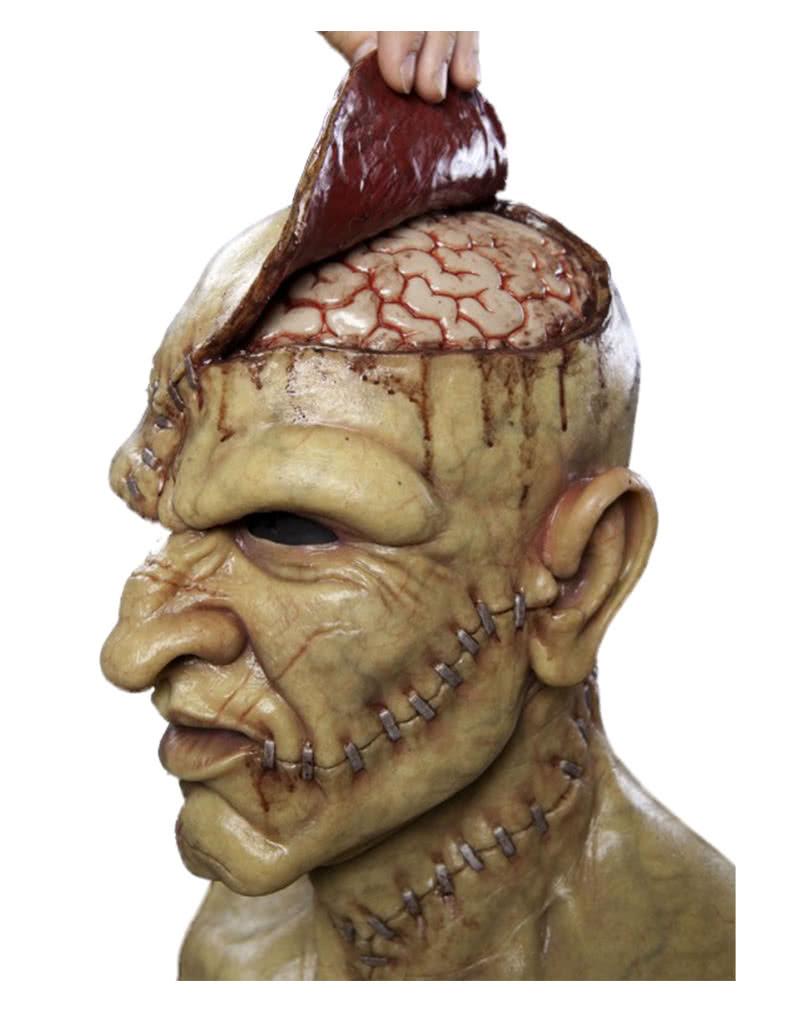brain monster maske aus silikon horrormaske f r. Black Bedroom Furniture Sets. Home Design Ideas